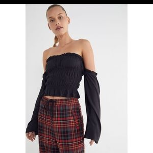 Urban Outfitters Byron off the shoulder Top NWT